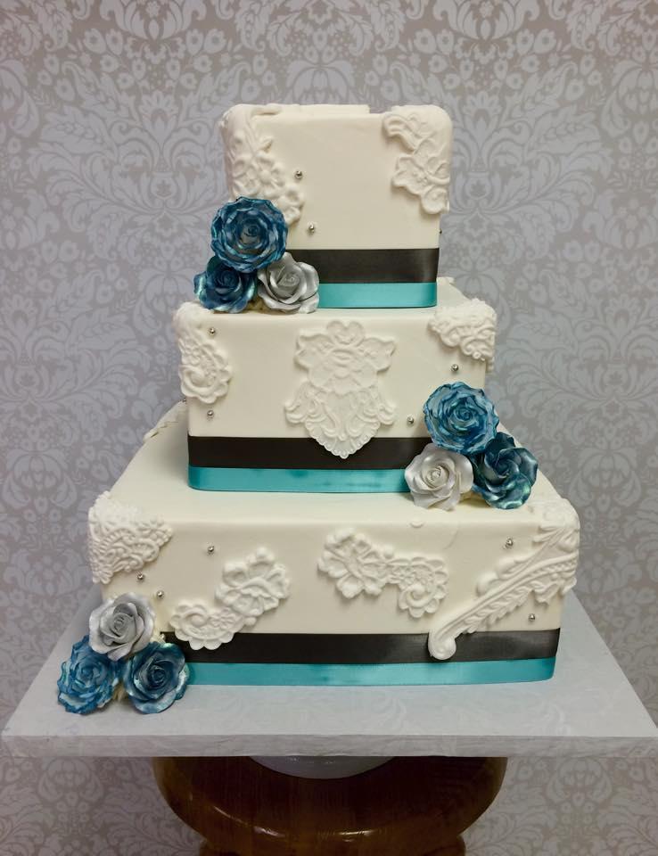 Custom Wedding Cakes South Jersey Stella Baking Company